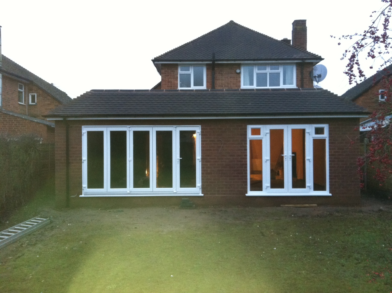 Single Storey Rear Extension – Nether Whitacre | SAH Developments